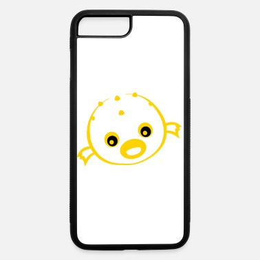 Goggley Eyes puffer fish - iPhone 7 & 8 Plus Case