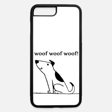 Woof Woof Woof Woof - iPhone 7 Plus/8 Plus Rubber Case