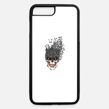 Skull Hipster skull hipster pirate - iPhone 7 & 8 Plus Case