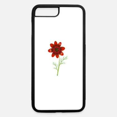 Adonis Summer Adonis florets in bright red - iPhone 7 & 8 Plus Case