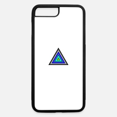 Triangle Triangles in Triangle - iPhone 7 & 8 Plus Case