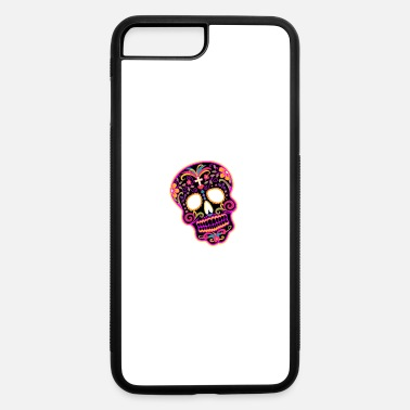 Decoration decorated skull - iPhone 7 Plus/8 Plus Rubber Case