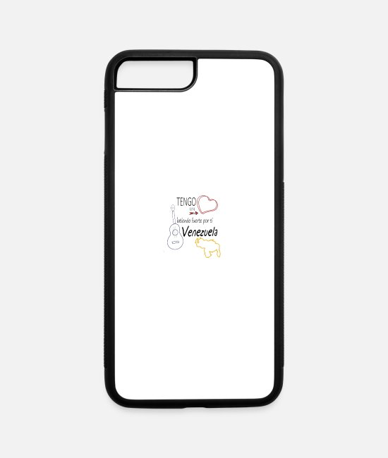 Heart iPhone Cases - Tengo un corazon latiendo - iPhone 7 & 8 Plus Case white/black