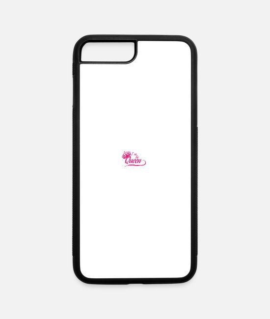 Queens iPhone Cases - Queen - iPhone 7 & 8 Plus Case white/black