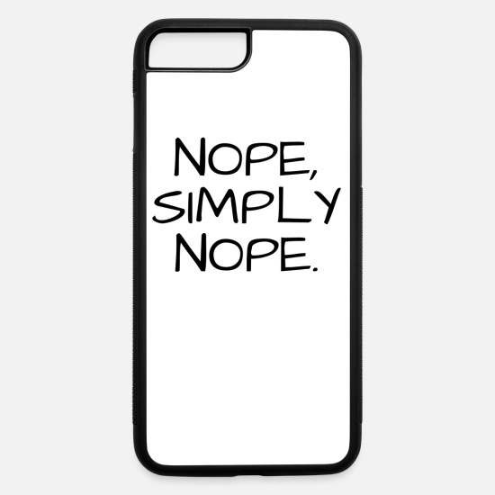 Funny iPhone Cases - Funny - iPhone 7 & 8 Plus Case white/black
