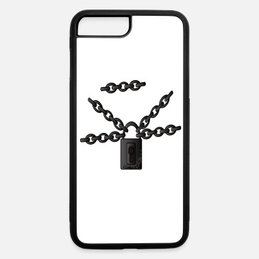Chain Chains Chain Links Steel Chains Metal Chains - iPhone 7 & 8 Plus Case