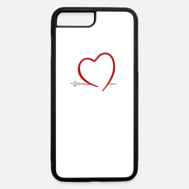 Energy-conscious I love electric car mobility gift E car - iPhone 7 & 8 Plus Case