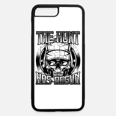 Hunting Cool Hunter's Skull Deer Hunting Wildlife Forest - iPhone 7 & 8 Plus Case