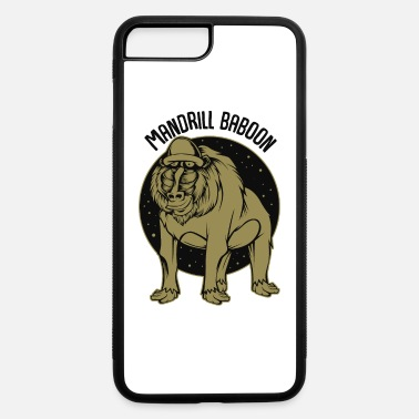 Primate Mandrill Baboon Mandrillus Monkeys Primate Apes - iPhone 7 & 8 Plus Case