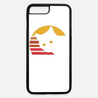 Style Vintage Eighties Style Cat - iPhone 7 & 8 Plus Case