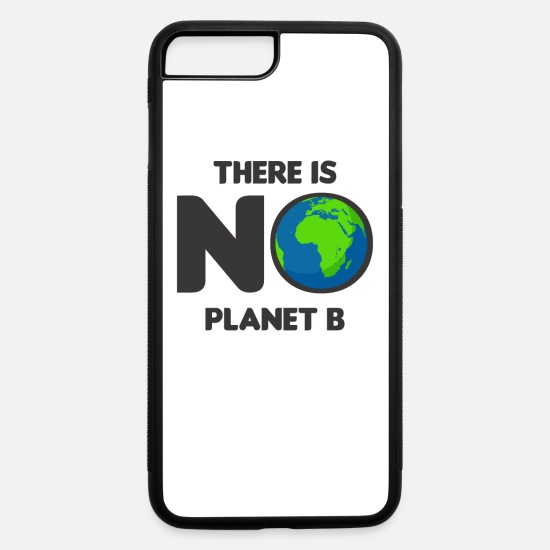 Vegan iPhone Cases - Demo demonstration birthday gift idea - iPhone 7 & 8 Plus Case white/black