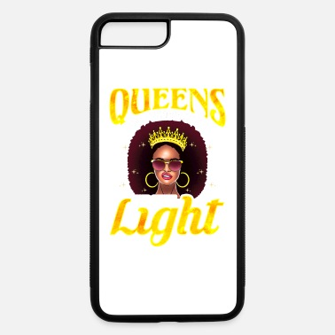 Shade Queens Don't Throw Shade They Shine Light Black Gi - iPhone 7 & 8 Plus Case