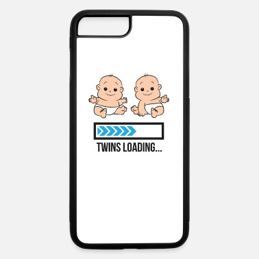 Twin Pregnancy Mom Of Twin Pregnancy Twins Loading Pregnant With - iPhone 7 & 8 Plus Case