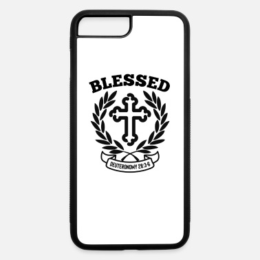 Christian Apparel Blessed Christian Bible Verse Sayings - iPhone 7 & 8 Plus Case