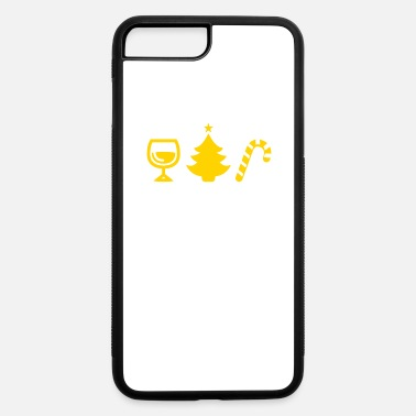 I'm Dreaming Of A White Christmas And A Red Wine - iPhone 7 & 8 Plus Case