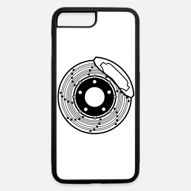 Brake brake disc, brake, disc, car, bike, motorcycle - iPhone 7 & 8 Plus Case