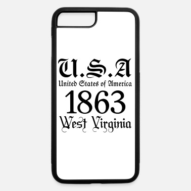 City-state West Virginia,United States of America, USA,City - iPhone 7 & 8 Plus Case