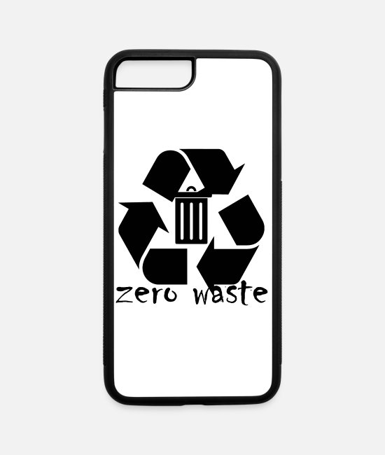 Nature iPhone Cases - Zero waste - iPhone 7 & 8 Plus Case white/black