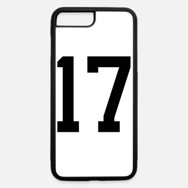 Number 17 number 17 - iPhone 7 & 8 Plus Case