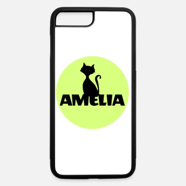 Name Day Amelia First name Name Name Motif Christening - iPhone 7 & 8 Plus Case