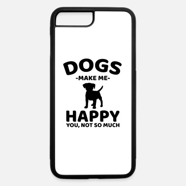 Introvert Quote Beagle dog breed introvert quote gift - iPhone 7 & 8 Plus Case