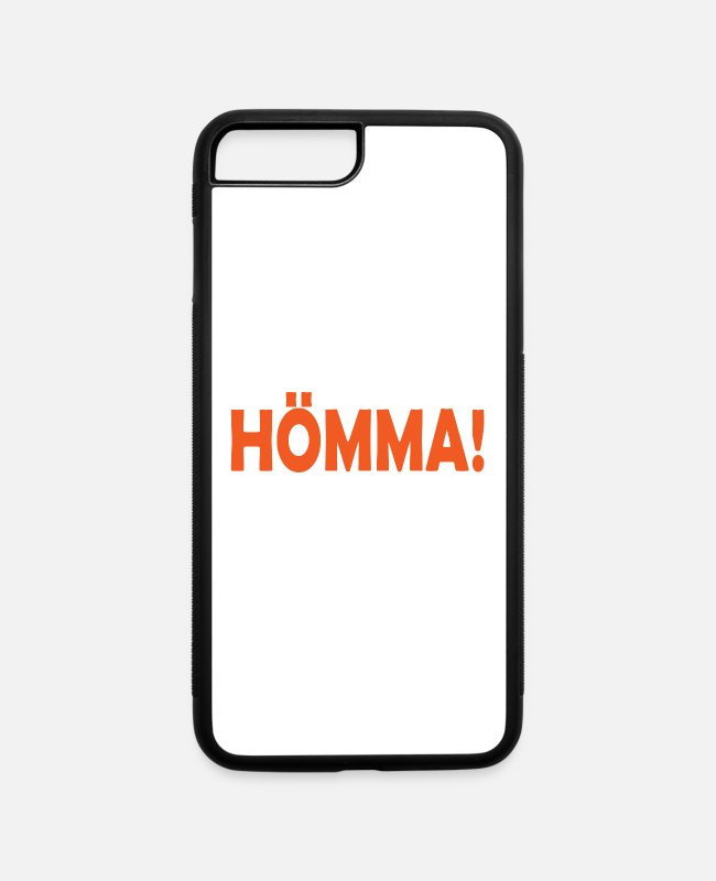 Ruhrpott iPhone Cases - Hömma Ruhrgebiet Ruhrpott mining - iPhone 7 & 8 Plus Case white/black