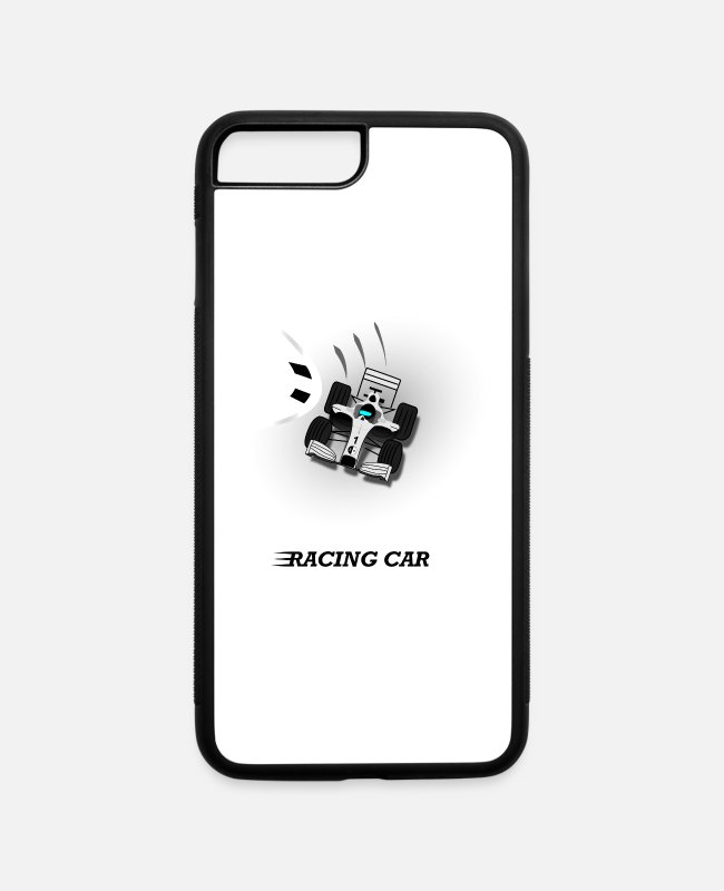 Speed iPhone Cases - Racing Car - iPhone 7 & 8 Plus Case white/black