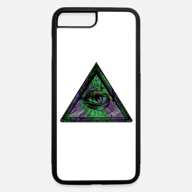 Illuminati Eye of Providence Trippy Abstract - iPhone 7 & 8 Plus Case
