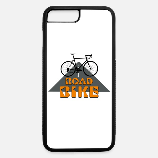 Road iPhone Cases - Road Bike - iPhone 7 & 8 Plus Case white/black