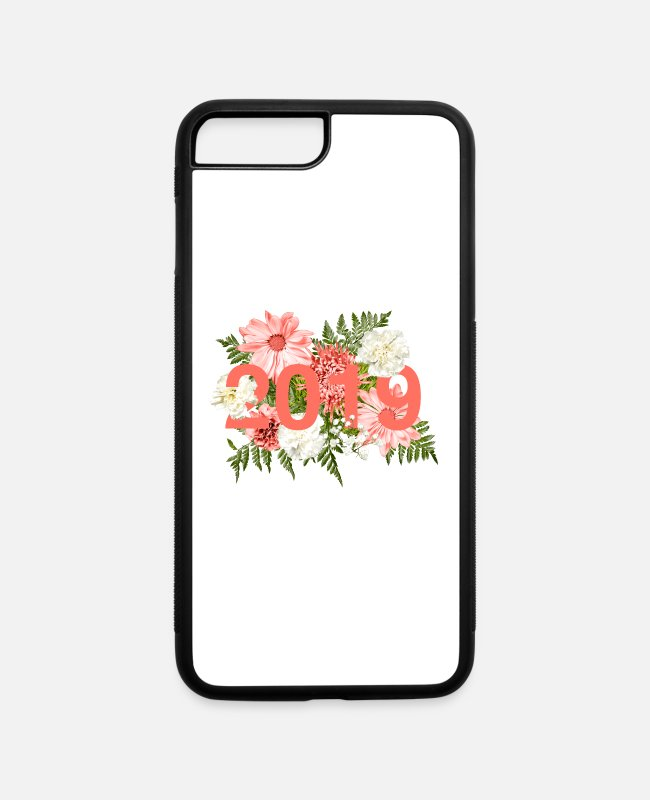 2019 iPhone Cases - 2019 Living Coral Floral - iPhone 7 & 8 Plus Case white/black