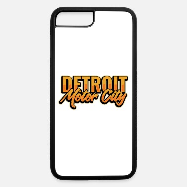 City Detroit Motor City Michigan US State Automobile - iPhone 7 & 8 Plus Case