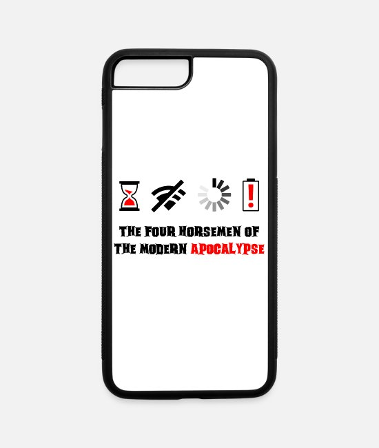 Apocalypse iPhone Cases - Modern Apocalypse - iPhone 7 & 8 Plus Case white/black