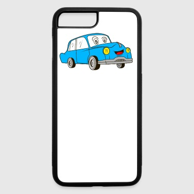Old Cartoon Car - iPhone 7 Plus/8 Plus Rubber Case
