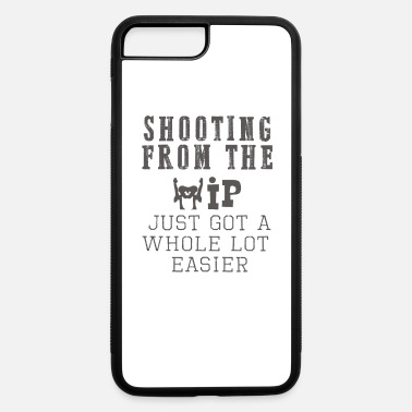 Hip Top Fun Hip replacement shooting from the hip - iPhone 7 & 8 Plus Case