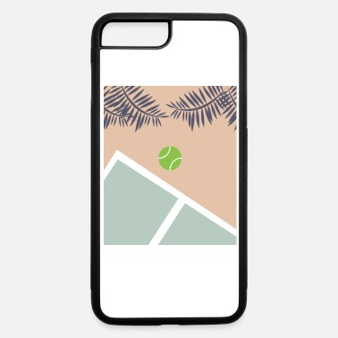 Court Tennis Court - iPhone 7 & 8 Plus Case
