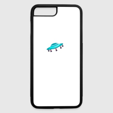 ufo blast off phone case - iPhone 7 Plus/8 Plus Rubber Case