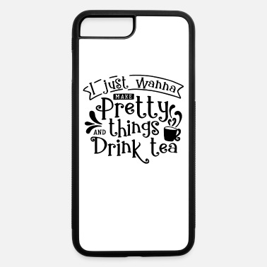 Tea TEA LOVERS TEA printS - CRAFTING AND TEA - iPhone 7 & 8 Plus Case