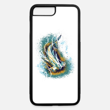 Enviromental Hammerhead Shark, Artwork, Save the Ocean - iPhone 7 & 8 Plus Case