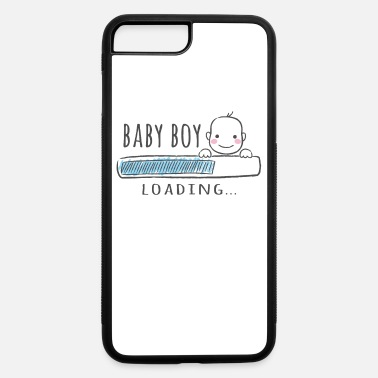 Pregnant baby boy, pregnant, mother to be, birth, gift idea - iPhone 7 & 8 Plus Case