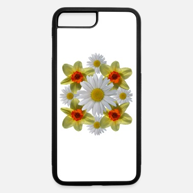 daisies floral bloom daisy spring daffodil florets - iPhone 7 & 8 Plus Case