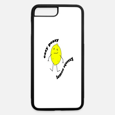 Sour Easy Peasy Lemon Squeezy funny gift idea - iPhone 7 & 8 Plus Case