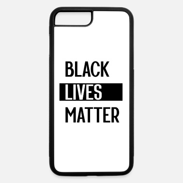 Truth Simple Black Lives Matter in Black and White - iPhone 7 & 8 Plus Case