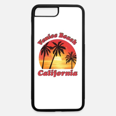 Camper Van Venice Beach California - iPhone 7 & 8 Plus Case