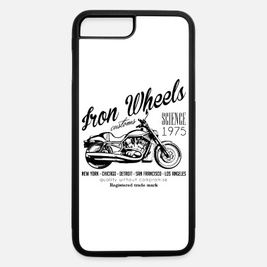 Iron Iron Wheels - iPhone 7 Plus/8 Plus Rubber Case
