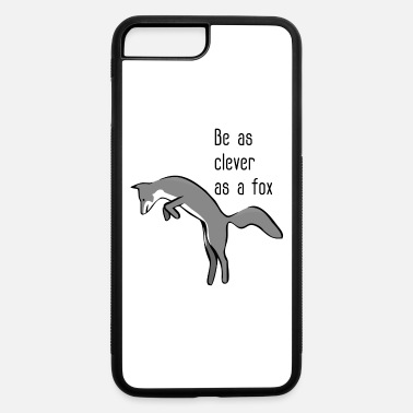Clever Be as clever as a fox - iPhone 7 Plus/8 Plus Rubber Case