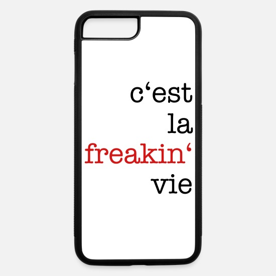 French iPhone Cases - freaking - iPhone 7 & 8 Plus Case white/black