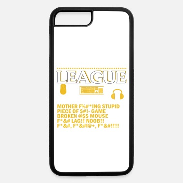 Always I dont always die when playing league of legends - iPhone 7 & 8 Plus Case