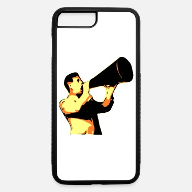 Yell man yelling - iPhone 7 Plus/8 Plus Rubber Case