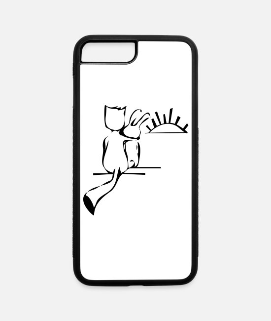 Friendship iPhone Cases - friendship - iPhone 7 & 8 Plus Case white/black
