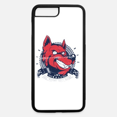 Growling Wolf Grin comic wolf - iPhone 7 & 8 Plus Case